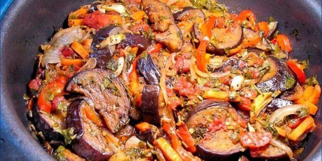 Аджапсандали — вкусное кавказское рагу