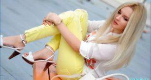 Джинсы и штаны жёлтого цвета