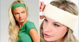 Есть разные методы как носить повязку для волос
