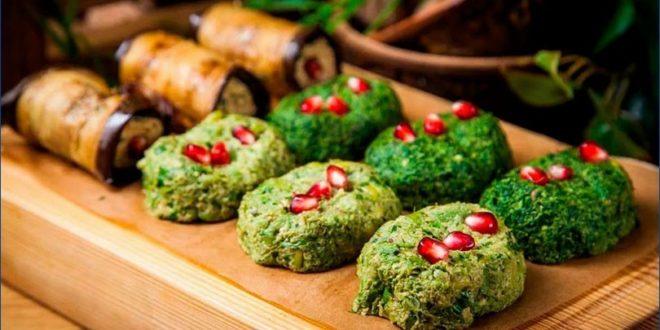 Пхали — грузинская закуска из баклажан
