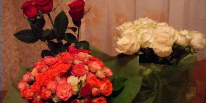 Какие конкретно цветы подарить в различных обстановках