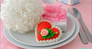 Приготовим марципаны – знак Дня Святого Валентина