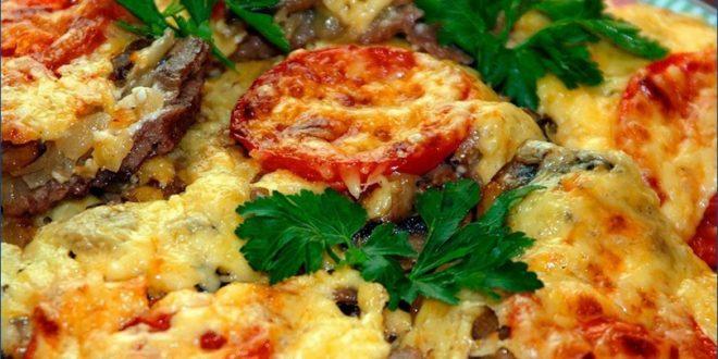 Рецепт из Франции: Картофель по-французски с грибами