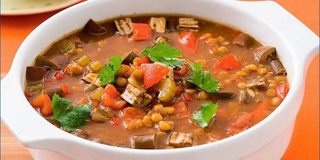 Суп из чечевицы – рецепт для СВЧ