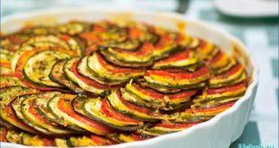 Блюдо рататуй готовим в микроволновке
