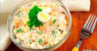 Быстрый картофельный салат на ежедневно