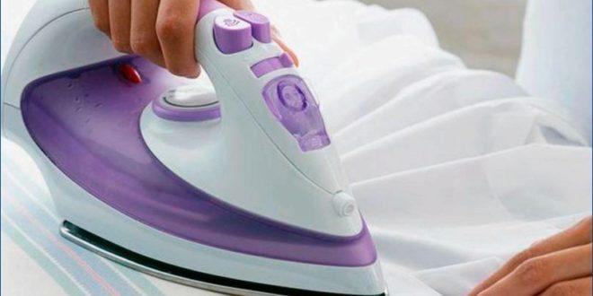 Чем чистить утюг дома