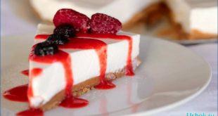 Йогуртовый торт без выпечки — сладкий десерт