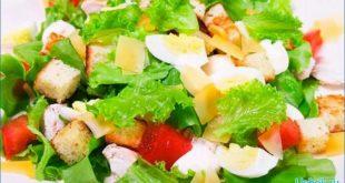 как готовить салат Цезарь