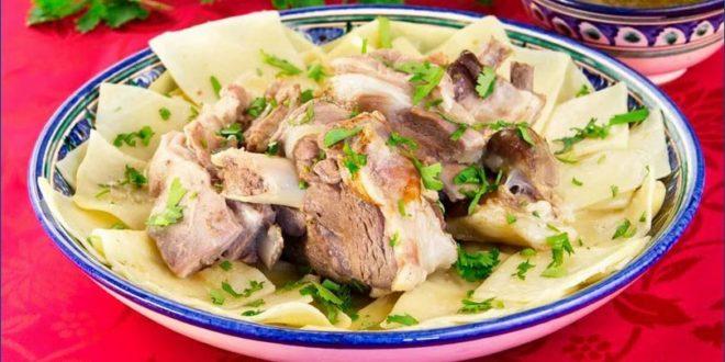 блюдо из баранины — Бешбармак