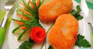 котлеты из картофеля и риса